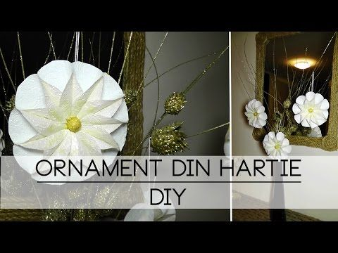 Ornament din hârtie | DIY | Christmas Special Tutorial