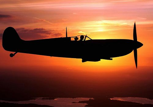 Spitfire Sunset!
