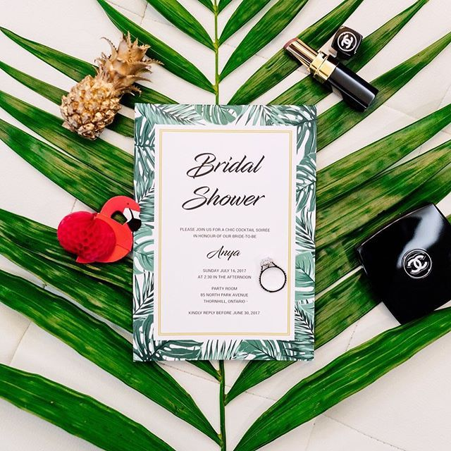 """""""We definitely felt the Miami heat at this Bridal Shower! From being a bridesmaid to the stationery specialist... It was such a pleasure to be a part of this event for my dear from @missanyab from @lachicsoiree  Thank you to @wedluxe for featuring us! …………………………………. Credits Concept Creates, Stylist, Producer and Planner @lachicsoiree; Décor and Floral Design @preciousflowers_; Stationery Design @lepapierinvitations; Furniture Rentails @detailzchaircouture; Bar Graphics, Cushion and Pillow…"""
