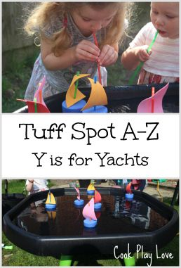 Y is for Yachts Tuff Spot Cook Play Love