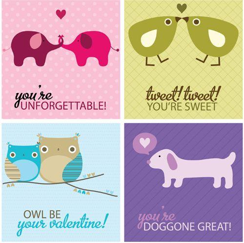 FREE Printable Valentines :)