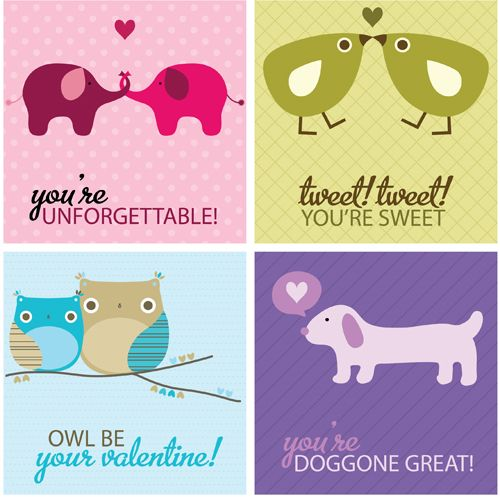 67 best images about Valentines Day Labels Templates and – Free Downloadable Valentine Cards