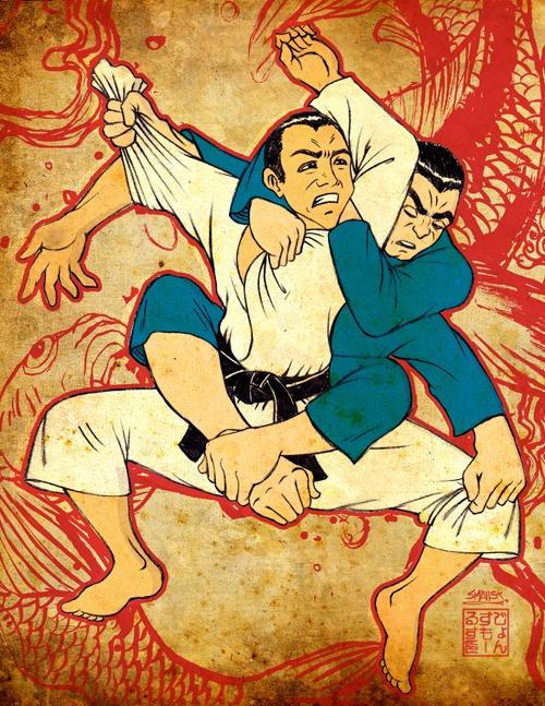Jiu Jitsu = chess with your body parts