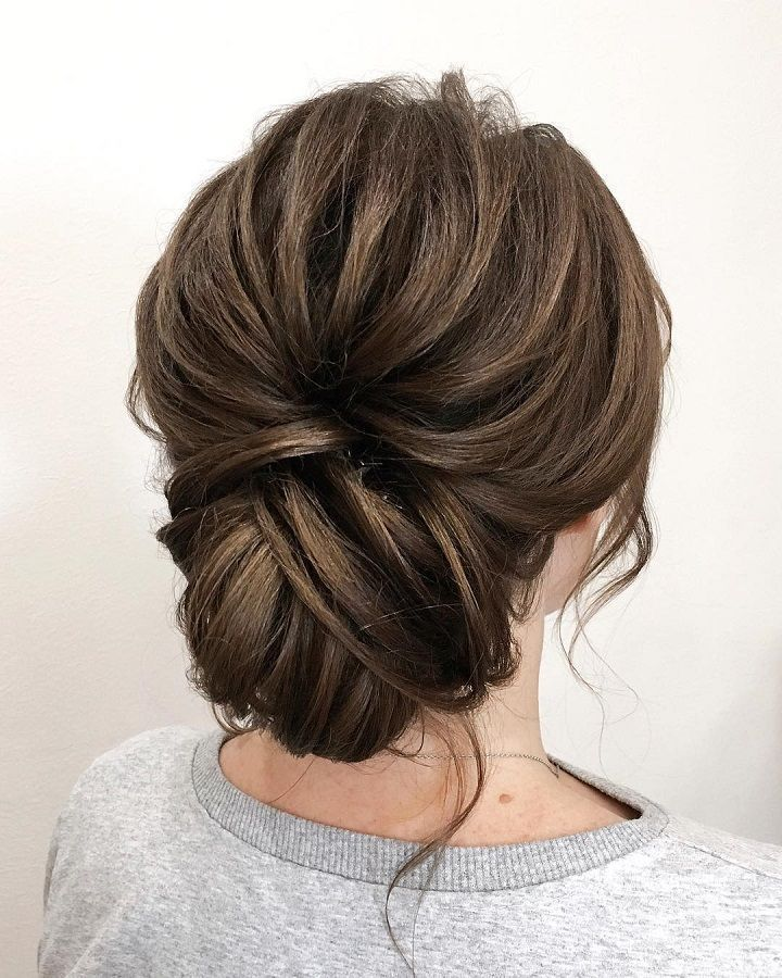 wedding hairstyle ideas  chic updo for brides wedding hairstylewedding hairst