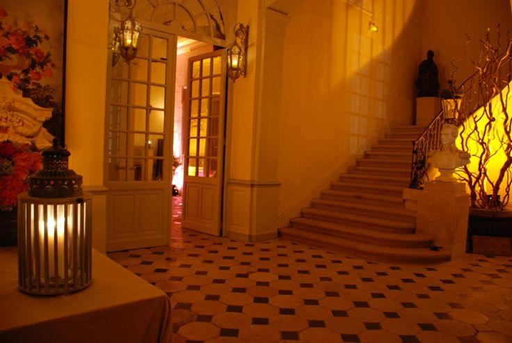 chateau de montgobert - Le vestibule