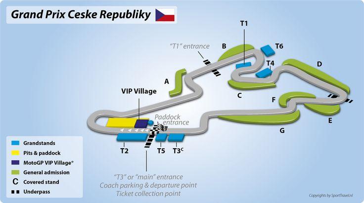 Moto GP Circuit Tsjechie 2015 | Brno