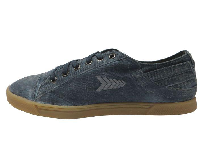 Calzado In2Go - Ref: Wave Dyeing Navy Blue. Tipo ten. - Montado en Calzado Masculino - Acabado Unisex. Disponible en tallas  Masculino del 37 al 42. y Femenino del 34 al 40.