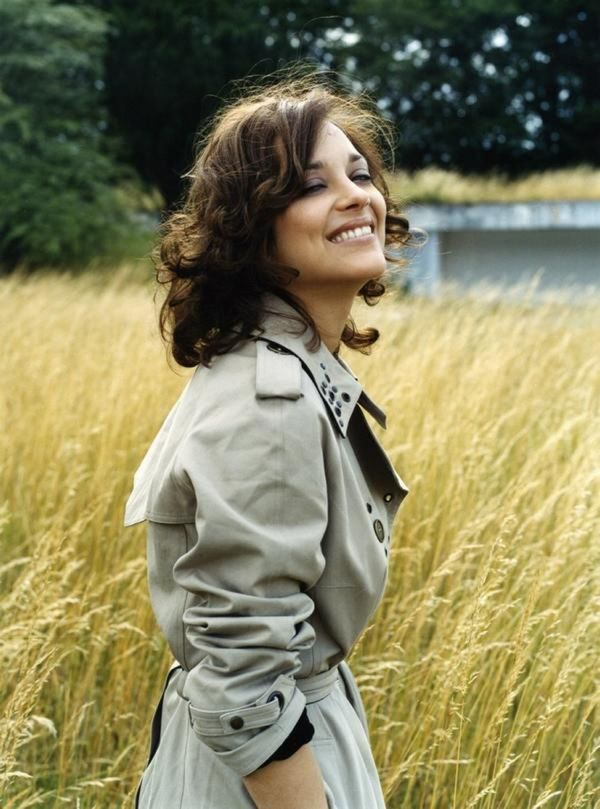 Marion Cotillard; I don't think I'd ever go short again, but if I did, something like this would be lovely