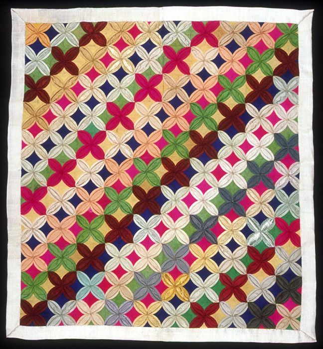bojagi - patchwork silk Korean wrapping cloth