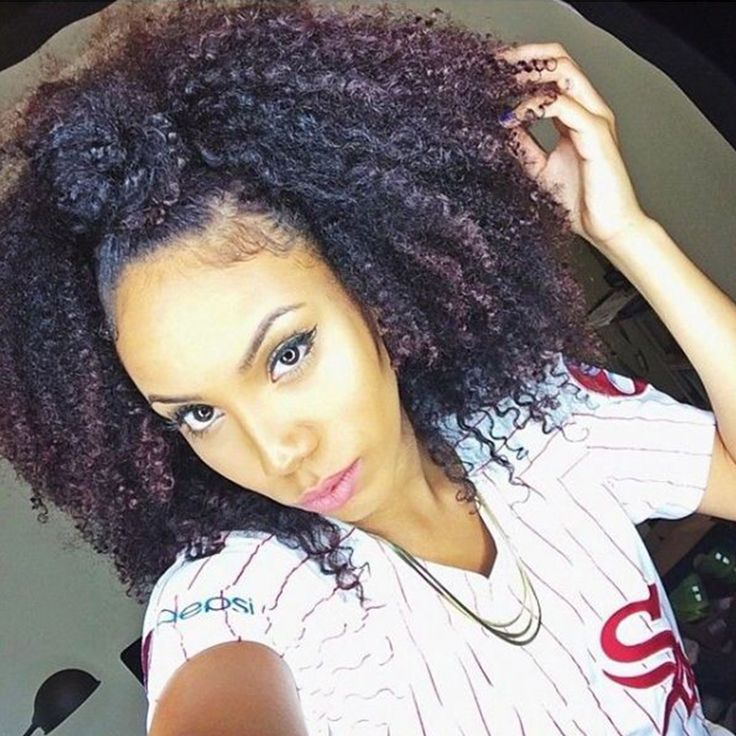 125 best full head set images on pinterest hair hair clip ins 4b 4c afro kinky curly clip in human hair extensions 7a mongolian african american clip in pmusecretfo Gallery