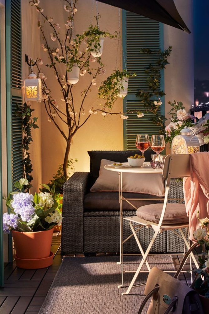 Espectaculares Terrazas Decoradas Al Estilo De Ikea