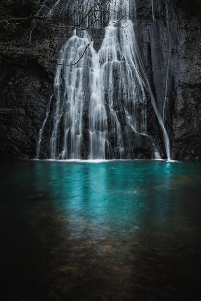 Kiyo-taki Falls, Shimane, Japan