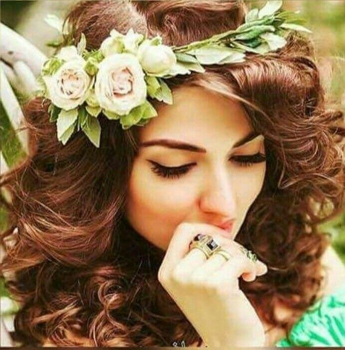 Girl cute awesome flower rose beauty »✿❤ Mego❤✿«