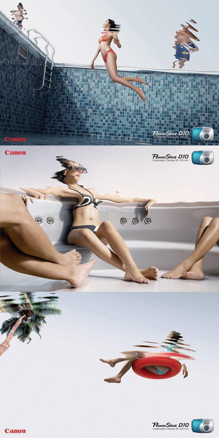 Canon Camera print #advertising