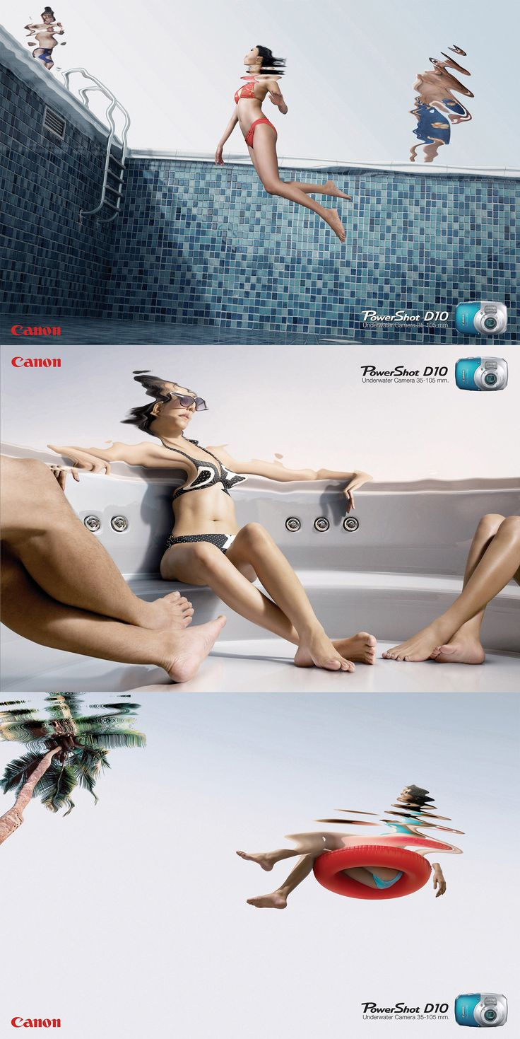 Canon Camera print #advertising