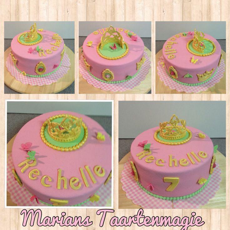 Prinsessentaart voor Rechelle