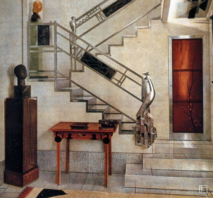 Art Deco Residential: 17 Best Images About [=] ART DECO STAIRS [=] On Pinterest
