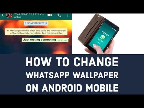 How to Change WhatsApp Wallpaper on Android Mobile