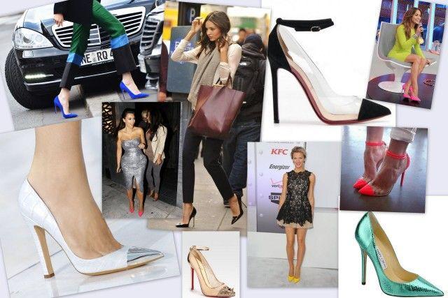 Pumps met enkele zool #fashiontrends