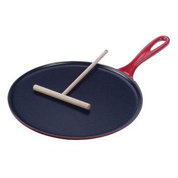 """Le Creuset Le Creuset Cast Iron 10.75"""" Crepe Pan"""