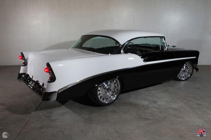 1956 chevrolet belair tuxedo built by kindig it design custom cars pinterest chevy. Black Bedroom Furniture Sets. Home Design Ideas