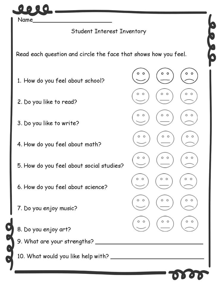 Best 25+ Student interest inventory ideas on Pinterest Student - sample student survey