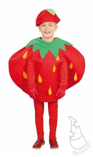 Disfraz de Fresa para niños o niñas Ref. 10584 | Disfraces infantiles | Comprar en Tienda-disfraces.es