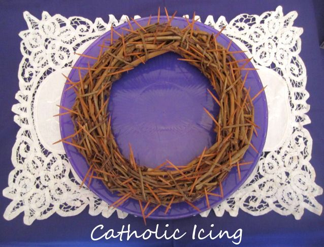 crown of thorns for lent good deeds