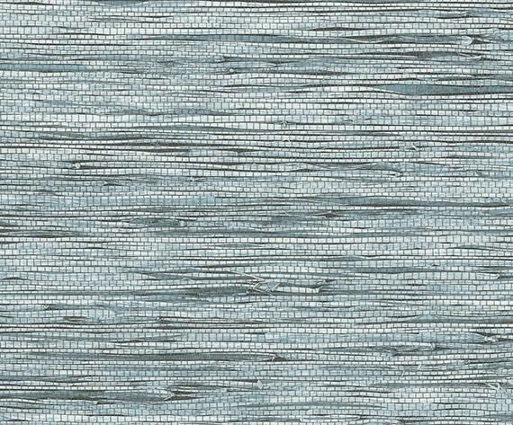Faux Grasscloth Spa Blue Easy To Apply Removable Peel Etsy Grasscloth Grasscloth Wallpaper Peel N Stick Wallpaper