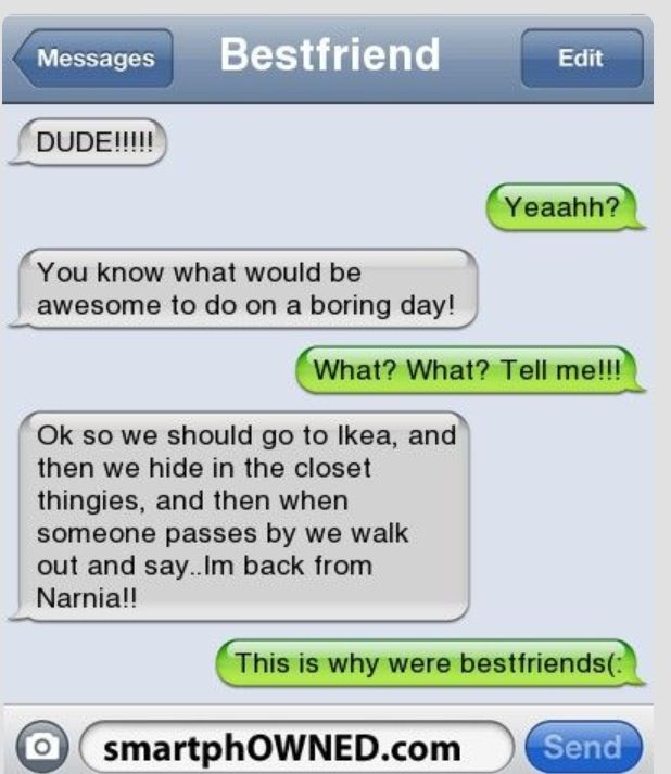 Things to do with your best friend