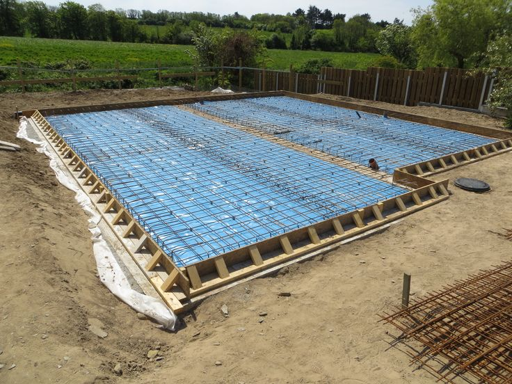 Shuttering Amp Reinforcing Ready For Concrete Slab
