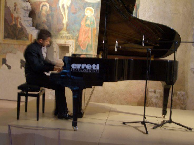 Konzert in der kleinen Kirche des Borgo