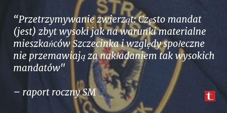 Praca #StrazMiejska w #Szczecinek. Fakty.