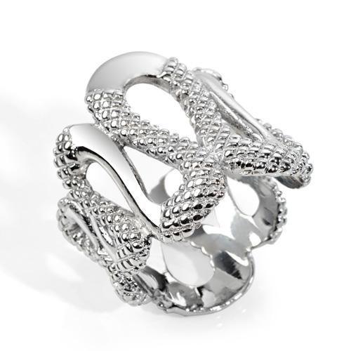 Δαχτυλίδι Just Cavalli Sahara Silver - BeMine.gr