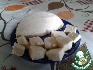 Сказочно вкусный и полезный сыр Панир (молоко, сливки, лимон)