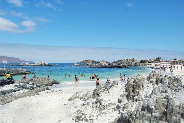 Un sueño es la playa de Bahía Inglesa, ahí cerquita de Caldera. ¿Quién la conoce? #Chile