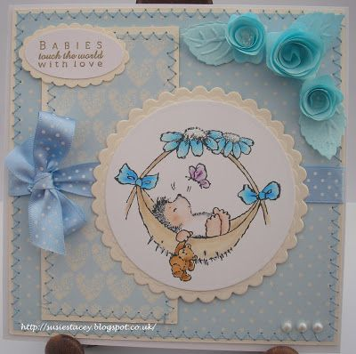 My Little Sanctuary: May 2013 - Penny Black Card / Carte Penny Black