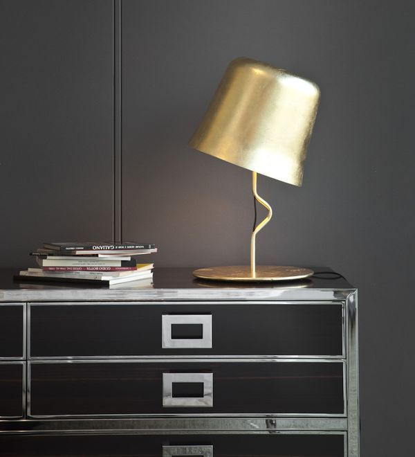 The Quirky And Elegant Agata Table Lamp By Contardi Has A Swivelling  Diffuser. Finishes Available