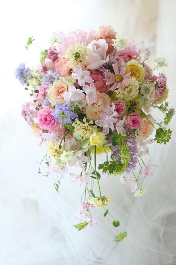 新郎新婦様からのメール 細めの花冠  パンパシフィックホテル横浜様へ : 一会 ウエディングの花