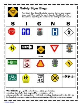 all worksheets safety signs worksheets printable worksheets guide for children and parents. Black Bedroom Furniture Sets. Home Design Ideas