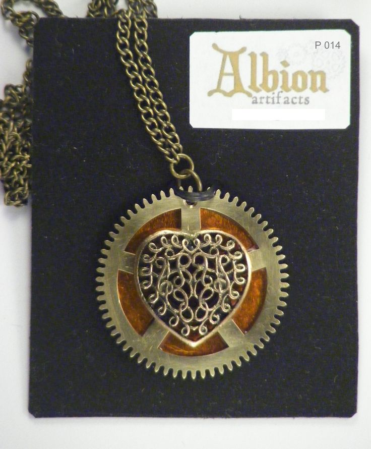 Steampunk Pendant by Albion Artifacts