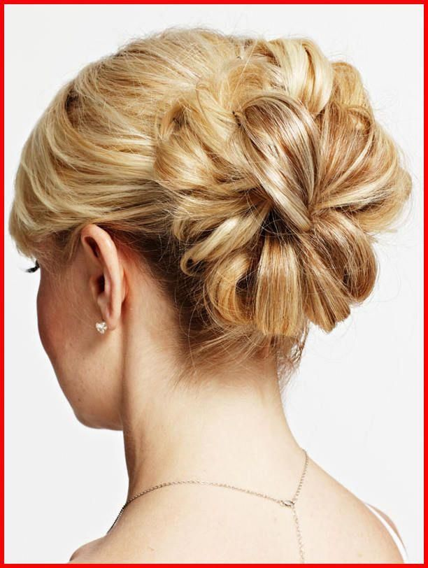 Wedding Hairstyles for Short Hair Updos #promhairupdotutorial