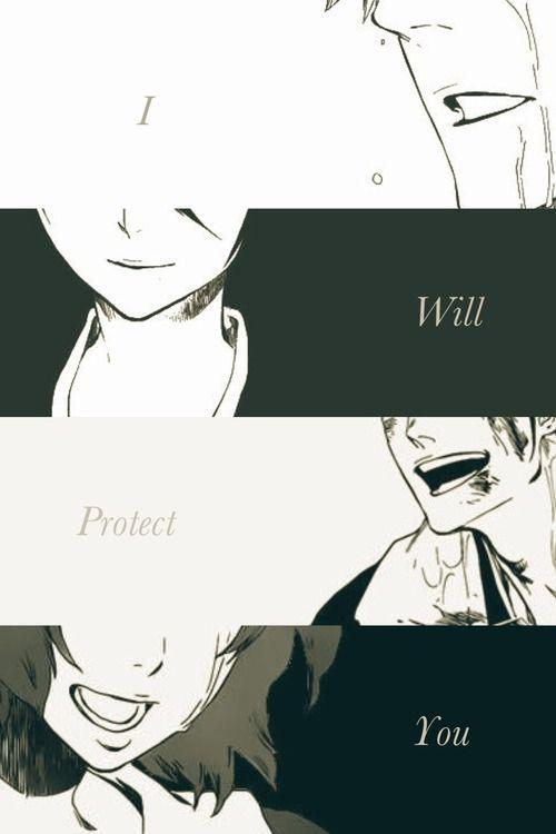 Bleach - I will protect you. Ichiruki, IsshMasa