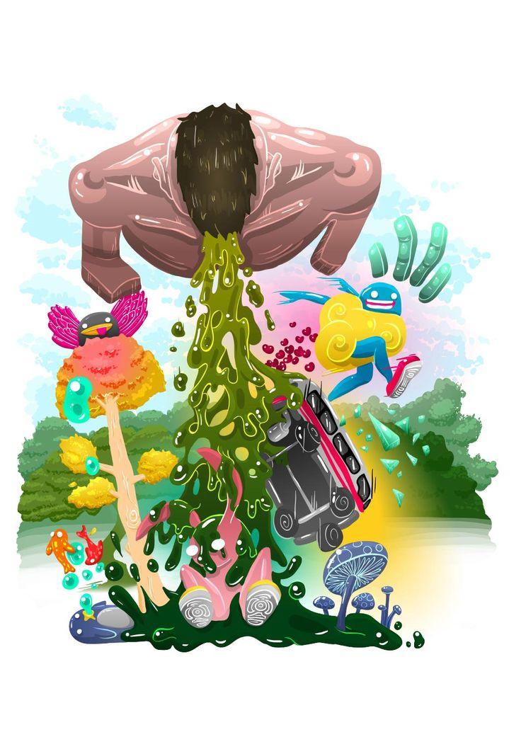 Great illustrations by 1Rabbit. (Trinidad)