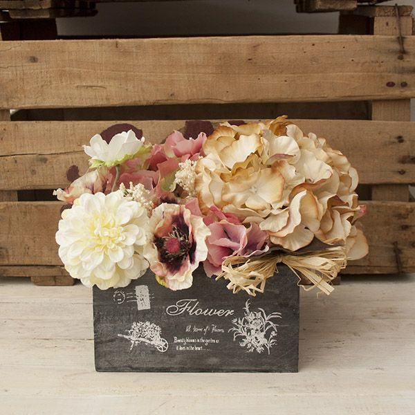Centro de flores artificiales online