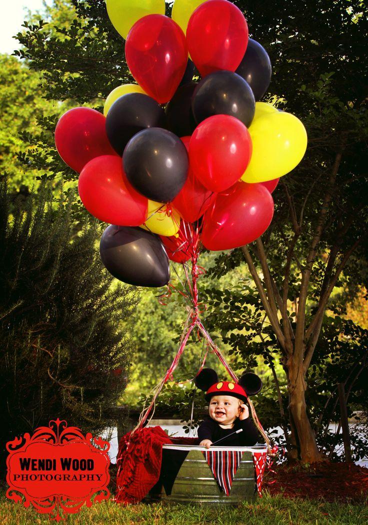1 year Mickey Mouse Celebration