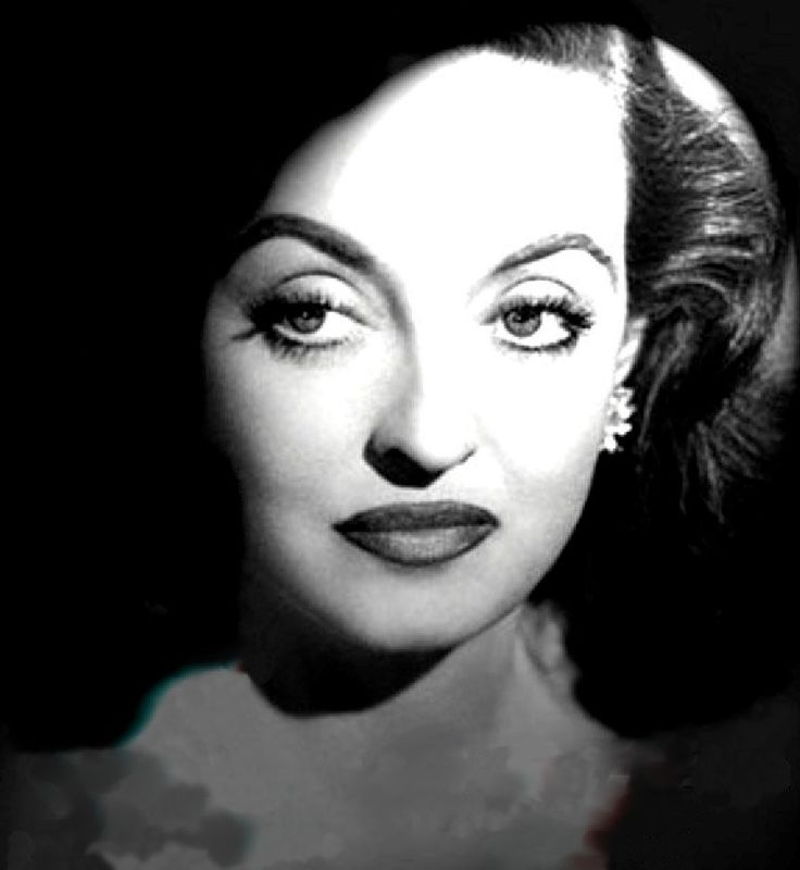 """Betty Davis...The """"First Lady of Film""""... 1930's and 40's actress known for playing unsympathetic characters."""
