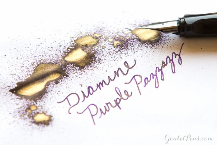 Goulet Pens Blog: Lamy Dark Lilac: Ink and Paper Pairings