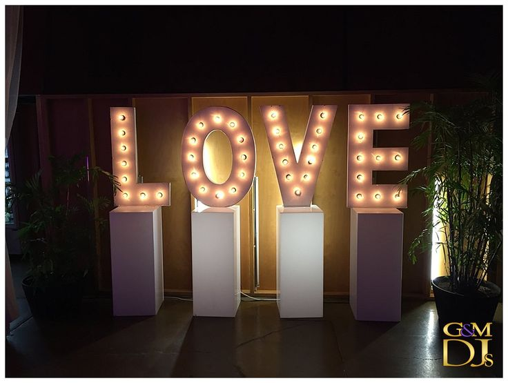 "Lightspace Wedding for Tashia & Newon ""LOVE"""