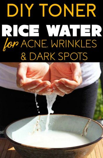 DIY Rice Water Toner to Shrink Pores and Brighten Skin